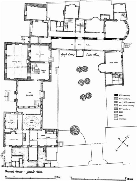 knole house floor plan the treasurer s house and gray s court british history online floorplan pinterest