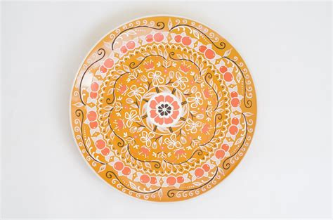 Decorative Fruit Wall Plates by Orange Decorative Plate Fruits Decor Wall Hangings