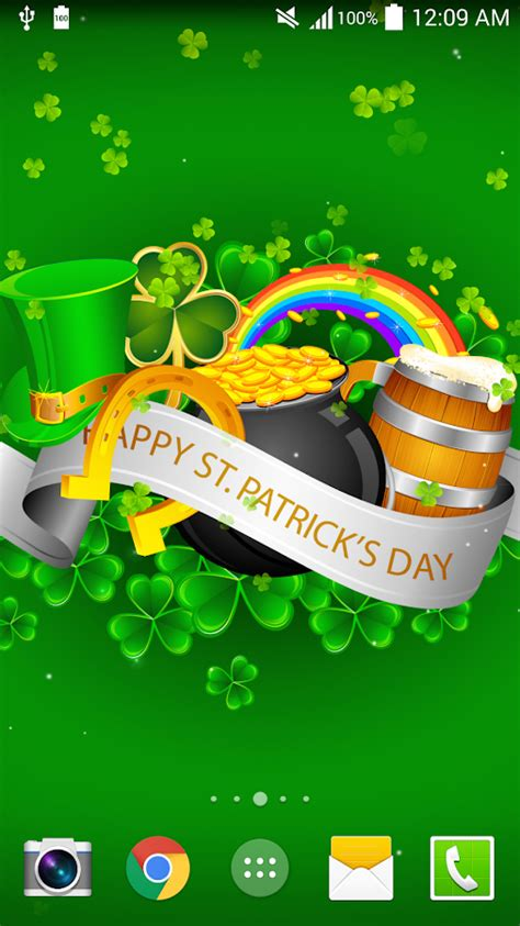s day live st patricks day live wallpaper android apps on play