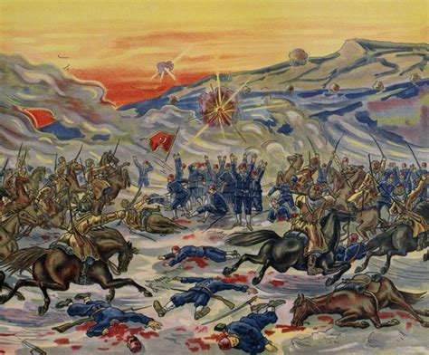 russian ottoman wars the russian turkish war the defeat of the turks at