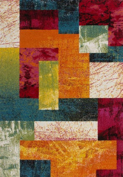 Tapis Multicolore Pas Cher by Tapis Multicolore Patchwork Vigo Pas Cher