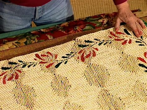 Diy Outdoor Rug With Fabric How To Make A Fabric Rug Border How Tos Diy