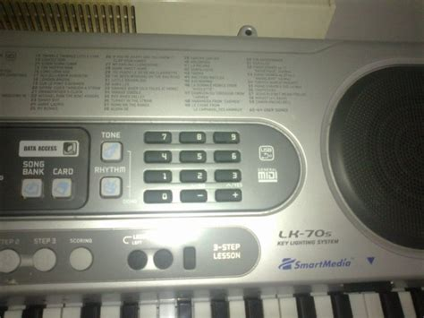 casio light up keyboard casio keyboard lk 70s stand light up keys great for