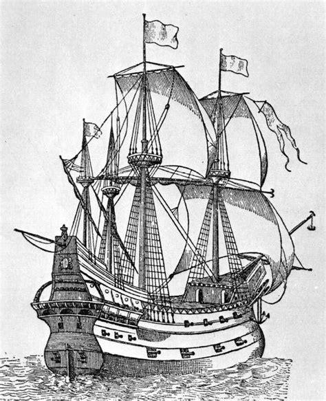 sailboat on spanish spanish galleon sailing the seas desen kalyon