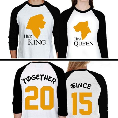 Custom His And Hers T Shirts 1000 Images About Clothes On Simba And Nala