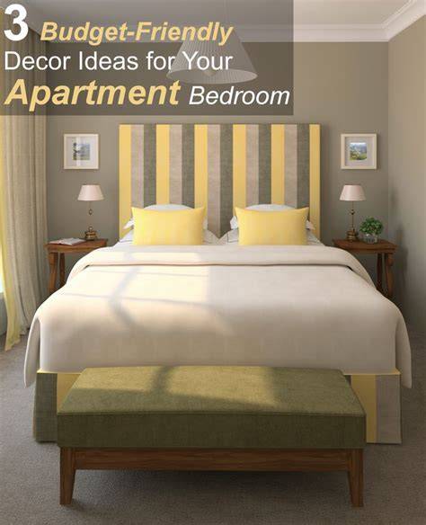 3 budget friendly d 233 cor ideas for your apartment bedroom
