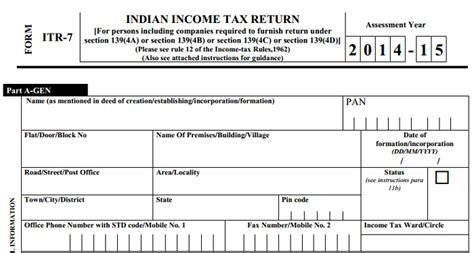 income tax return filing sections when charitable trusts are required to file income tax