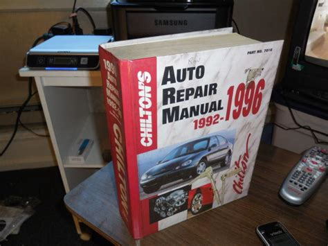 1992 1996 chilton auto repair manual 801979161 ebay buy 1992 1996 chilton s auto repair manual chevy chrysler 1994 1995 1996 dodge ford motorcycle