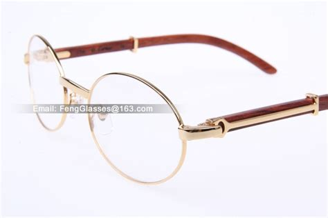 mens cartier eyeglasses cartier 51551348 wood eyeglasses