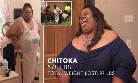 light weight loss chitoka light completes weight loss surgery to drops 97lbs