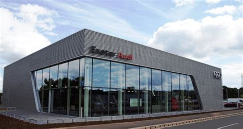 audi in exeter marshall opens new audi dealership in exeter