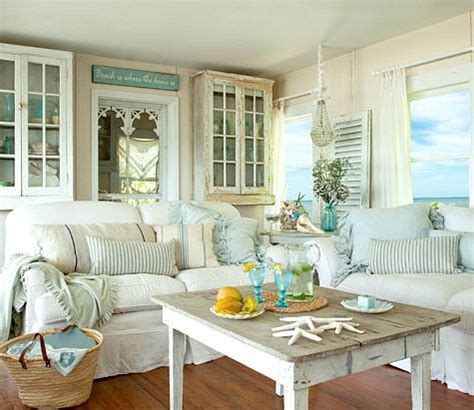 beach cottage decorating ideas charming small shabby chic beach cottage completely coastal