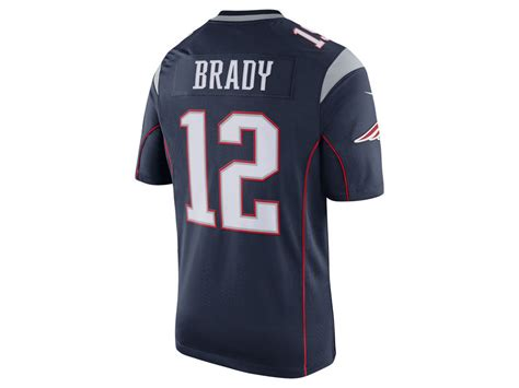 s new patriots tom brady 12 white elite new