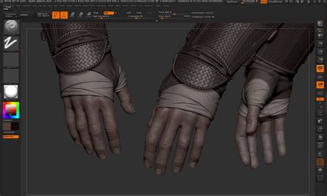 zbrush gloves tutorial aguilar de nerha sculpting and painting hand in zbrush