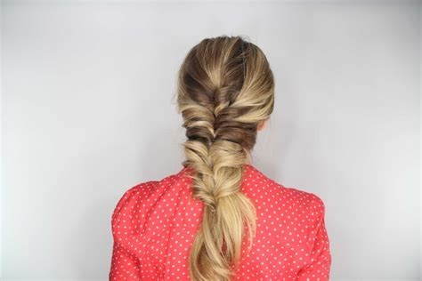 how to stack hair step by step diy wedding hairstyle stacked topsy tail faux braid