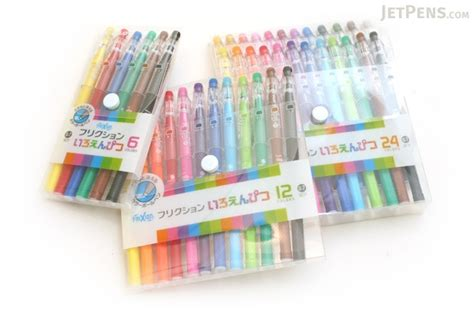 Japan Import Frixion Pencil Color 12 Pcs pilot frixion color pencil like erasable gel pen 0 7 mm 12 color set jetpens