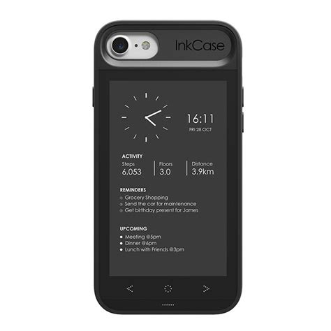 inkcase e ink second screen for iphone 8 7 6s 6 expansys hong kong