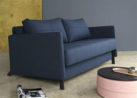 Cubed Sofa Bed Cubed 140 Fabric Arms Innovation Living Melbourne