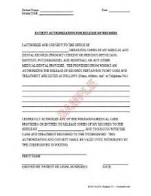 Patient Authorization Letter Patient Authorization To Release Dental Records At Texdentlaw Page