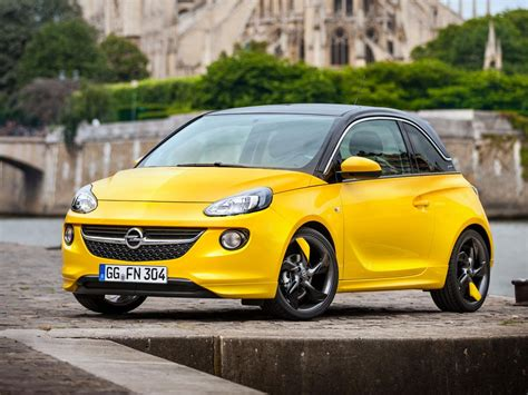opel adam opel adam technical specifications and fuel economy