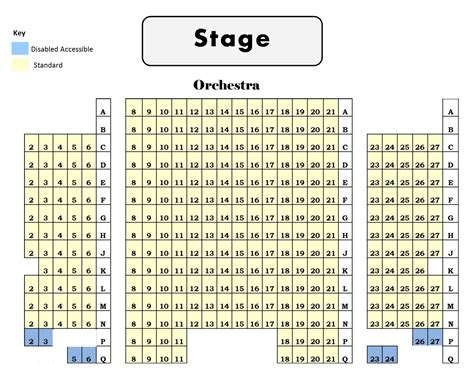 taft theater seating map seating map www thestate org