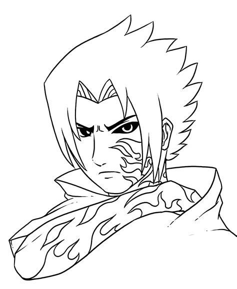 gambar naruto coloring pages gambar anime ninja naruto coloring pages womanmate sasuke