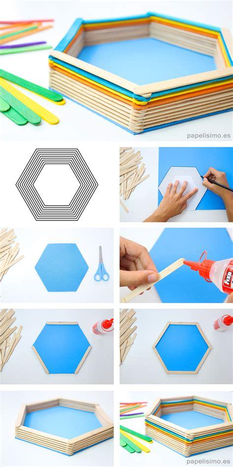 canastas de palitos madera de colores c 243 mo hacer caja con palitos de helados papelisimo