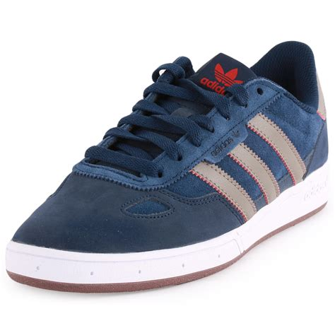 adidas ciero mens suede navy brown trainers new shoes all sizes ebay