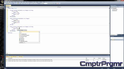 youtube tutorial basec tutorial visual basic 2010 how to make a dll class