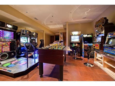 arcade room room my house theatre big and theater rooms