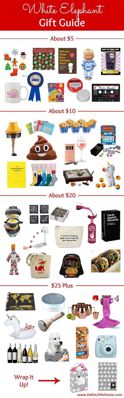 tacky gift swap ideas white elephant gift guide