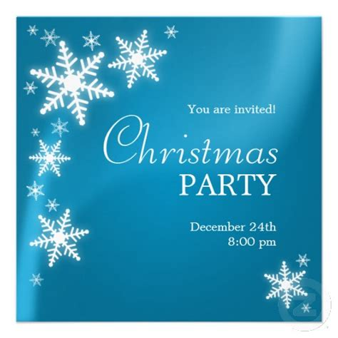elegant christmas party invitation template   pacq.co