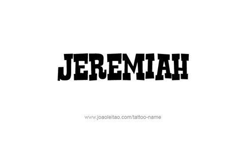 designs by jeremiah jeremiah prophet name tattoo designs tattoos with names