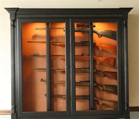 wall mounted gun cabinet wall hanging gun cabinet plans plans free pdf