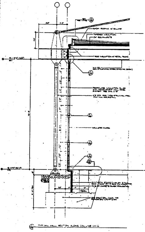 wall section detail drawing drawing a24 1
