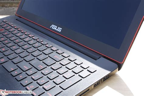Laptop Asus Rog G501 Jw test asus g501jw notebook notebookcheck tests