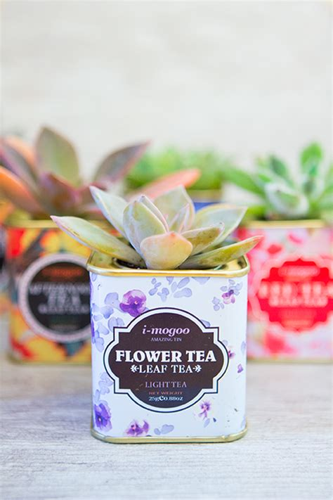 Happy Friday Tea Tins by Five Minute Friday 14 Everyday Items That Can Be