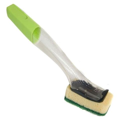 Clean Matic Heavy Duty Brush Hijau dishmatic washing up brush with heavy duty sponge 1801 1