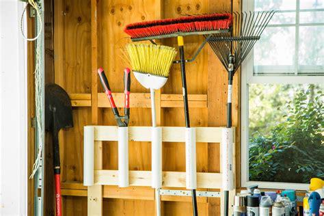 how to diy garden tool organizer home family