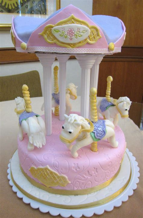 carousel cakes decoration ideas  birthday cakes