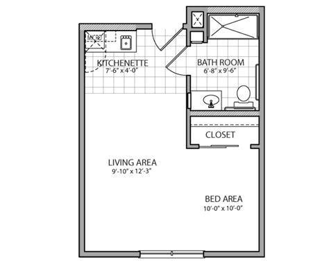 studio floor plans 400 sq ft studio apartment floor plans 400 sq ft download 320 square
