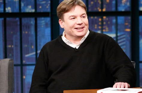 mike myers real name the gong show s host mike myers but in character