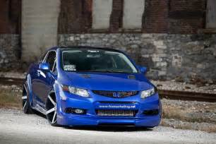 sema preview turbocharged 2012 honda civic si coupe by