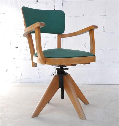 pied de bureau r馮lable fauteuil de bureau en moleskine fauteuil ancien et vintage