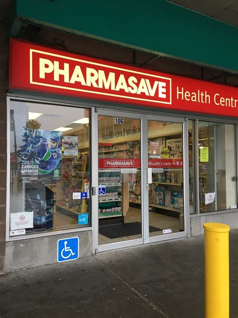 Vancouver Bc White Pages Lookup Pharmasave 106 2800 1st Avenue E Vancouver Bc