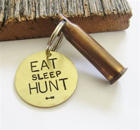 hunting keychain for hunter dad husband hunting gift christmas