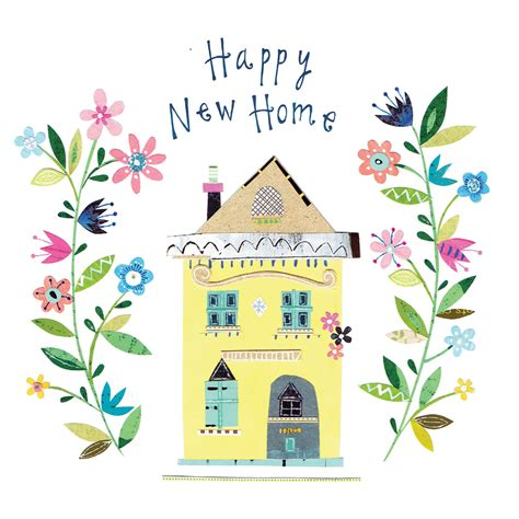happy  home  home card   island