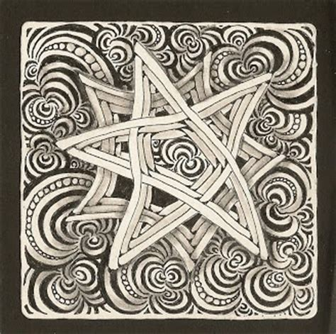 zentangle rope pattern 17 best images about tangle bunzo on pinterest