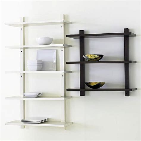 Small Rectangular Top Box Rak Dinding Serbaguna furniture simple bookshelves designs with unique material