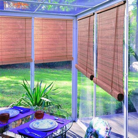 Cheap Patio Blinds - 25 best ideas about bamboo blinds on bamboo